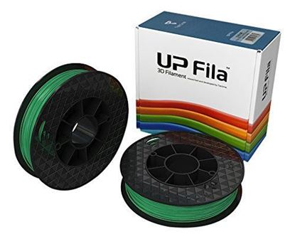 Picture of UP Fila PLA Plastic Filament, Groen 2 x 500 g Rol (2 stuks)